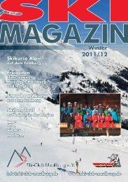 und Outdoormagazin 2012 - Ski-Club Maulburg eV