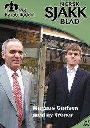 Magnus Carlsen med ny trener