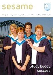 Study buddy success - The Open University
