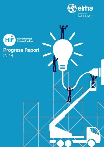 Humanitarian Innovation Fund Progress Report 2014