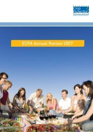 ECPA Annual Review 2007 - European Crop Protection Association