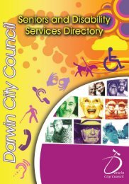 aged care services - Darwin City Council - Northern Territory ...