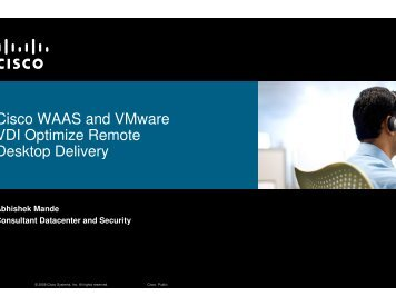 With WAAS - VMware