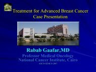 Treatment for Advanced Breast Cancer Case Presentation - NCI