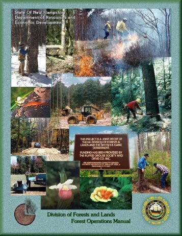 Forest Operations Manual - New Hampshire Division of Forests and ...