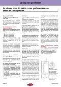 Richtlijnen voor de opslag van gasflessen - Page 2