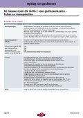 Richtlijnen voor de opslag van gasflessen - Page 3