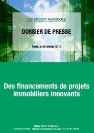 Direction Immobilier et Hôtellerie – Asie – 2011 - Crédit Agricole CIB