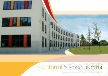 6th Form Prospectus - Ifield Community College