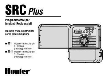 Centralina HUNTER modello SRC Plus - Irrigarden