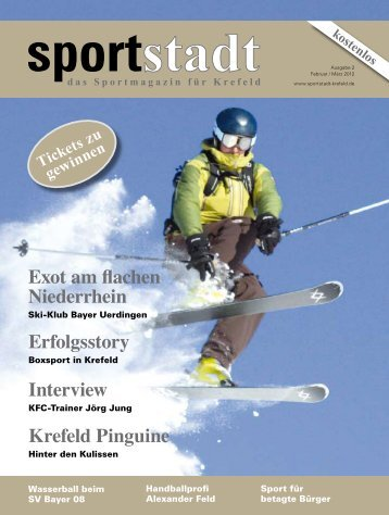 Exot am flachen Niederrhein - Ski-Klub Bayer Uerdingen