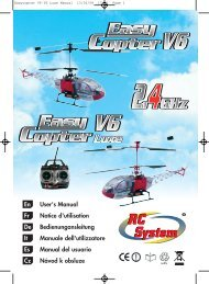 Manual Easycopter V6 24G - Speedmodels