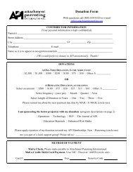 Donation Form - Attachment Parenting International