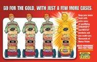 Gold Points promotion - Foodservice Marketing