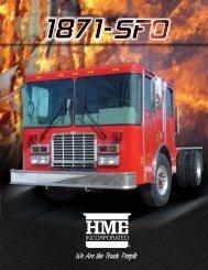 HME 1871-SFO Custom cab & chassis - R & R Fire Truck Repair, Inc.