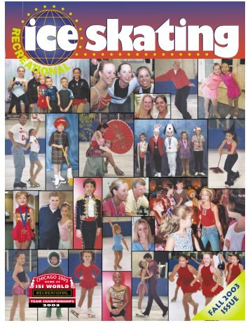 Fa ll 20 0 3 Issu e - Ice Skating Institute