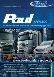 AKTION - Paul Nutzfahrzeuge