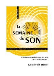 DP SemduSon09 - La Semaine du Son