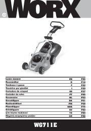 Lawn mower En - Worx Power Tools