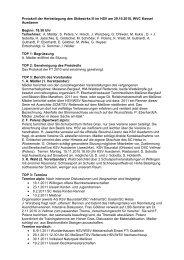 Protokoll der Herbsttagung des Skibezirks III im HSV am 29.10.2010 ...
