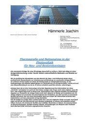 klick Beispiele Wärmebildtechnik bei PV-Anlagen - Haemmerle ...