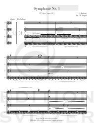 Symphonie Nr. 1 - Edition Svitzer
