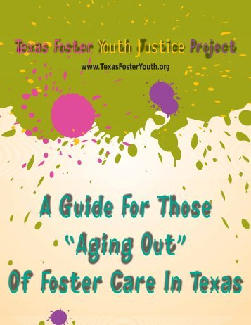 Texas Foster Youth Justice Project - Poverty Law Section