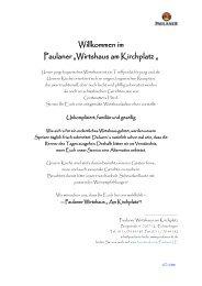 PDF Speisekarte zum Download - Paulaner