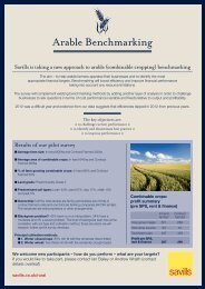 Arable Benchmarking - Savills