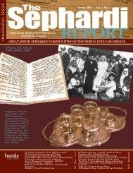Inside - American Sephardi Federation