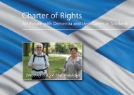 Charter of Rights for People with Dementia and their Carers in ...