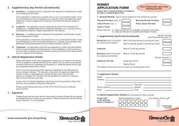 newcastle city council driveway application