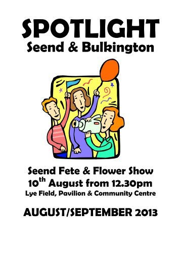 Spotlight Aug & Sept 2013 - Seend Home Page