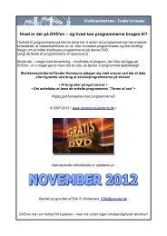 Hvad er der på DVD'en – og hvad kan programmerne bruges til?