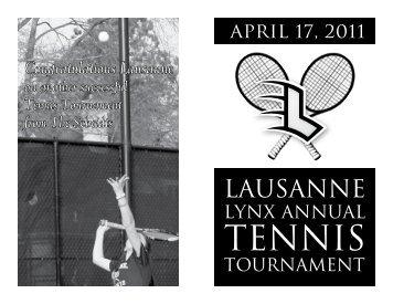 our sponsors - Lausanne Collegiate School