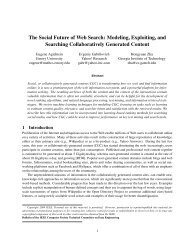 The Social Future of Web Search - FTP Directory Listing