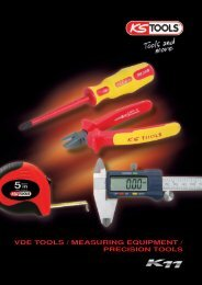 VDE TOOLS / MEASURING EQUIPMENT / PRECISION TOOLS