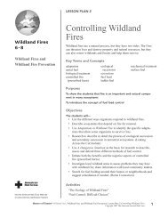 The Ecology of Wildland Fires