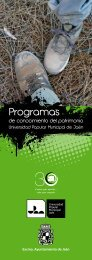 3. Programas del conocimiento del Patrimonio 2013/2014