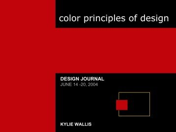 color principles of design
