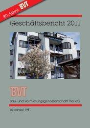 Geschäftsbericht 2011 - BVT