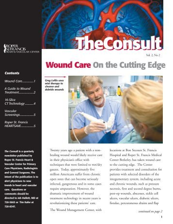TheConsult - Roper St. Francis Healthcare
