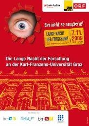 Die Lange Nacht der Forschung an der Karl-Franzens-Universität Graz