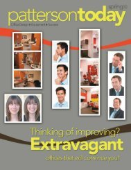 Creating Your Personal Environment - PATTERSON