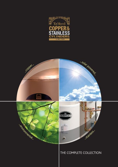 Download the Telford Copper Cylinders Brochure