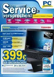 Monatsflyer November 2011 - PC Spezialist Moers