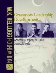 Grassroots Leadership Development: - Racial Equity Tools