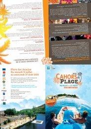 Cahors Plage