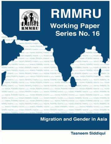 Untitled - Refugee and Migratory Movements Research Unit