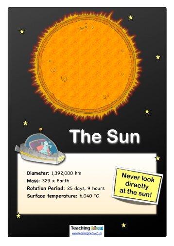 Planet Guide - Teaching Ideas
